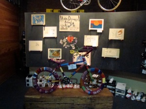 Austin Discovery School Yarn Bike!